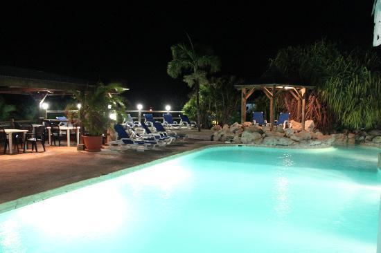 Hostellerie des Chateaux: la piscine