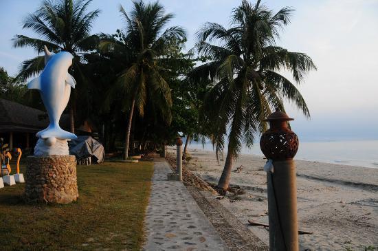 Khanom, Thailand: Beach with Palm trees