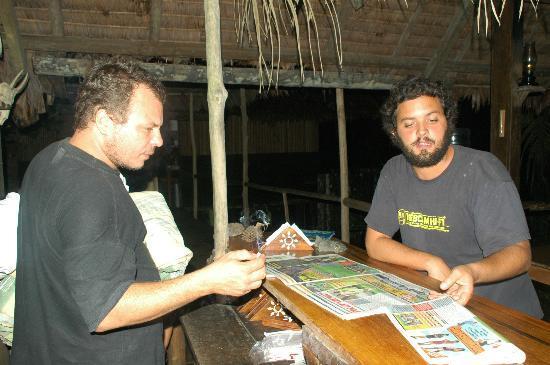 Inotawa Lodge: comedor Bar , Ramón y diogo de portugal