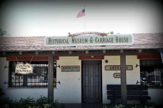 Santa Ynez Valley Historical Museum and Janeway-Parks Carriage House: Santa Ynez Valley Historical Museum and Carriage House