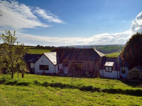 Penvith Barns: from the back field!