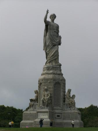 Plymouth, MA: National Monument of the Forefathers