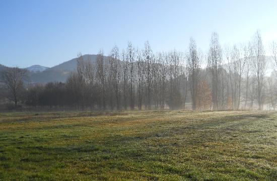 Agriturismo Montefiore: panorama mattutino