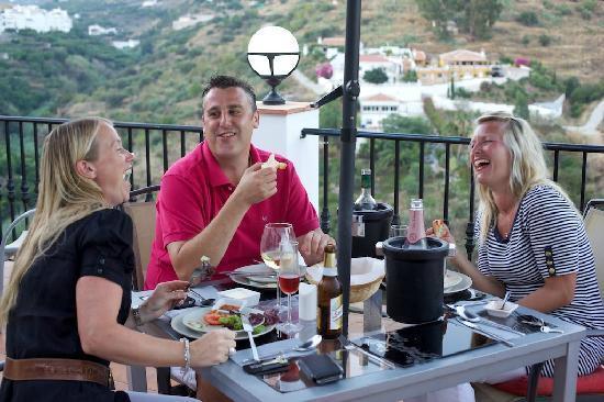La Casa Bar and Restaurant: Dinner on the stunning terrace