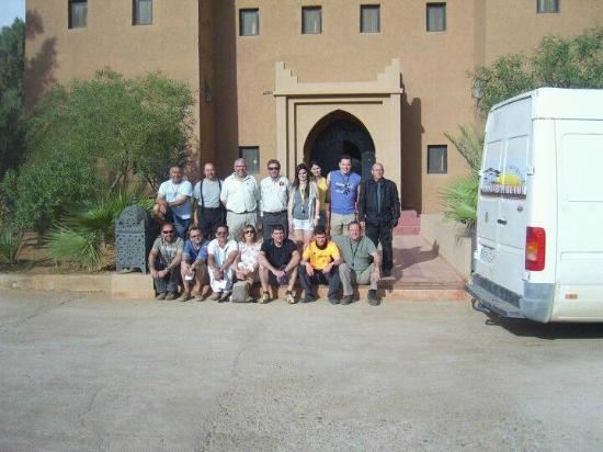 Hotel Tabarkat: Grupo Viaje 4x4  desde Mallorca Abril 2012