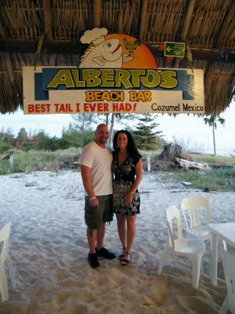 Alberto's Beach Bar Restaurant : Goofy picture