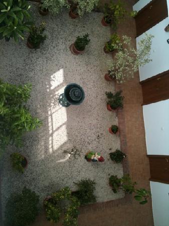 Hotel Oasis Atalaya : patio interior