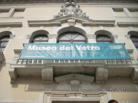 Museo del Vetro: Entrance
