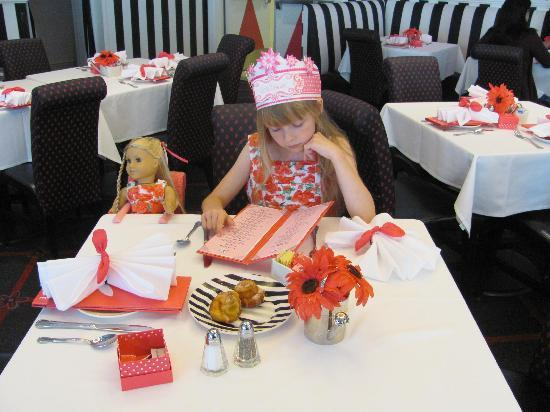 American Girl Store Chicago Cafe
