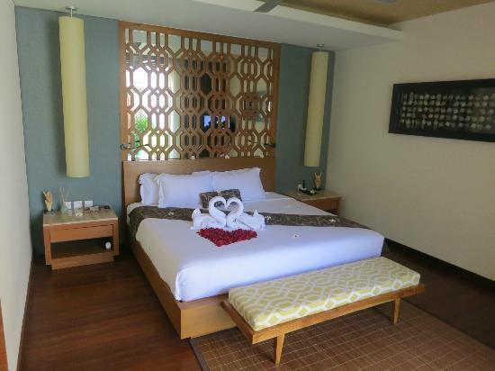 Maca Villas & Spa: the bed