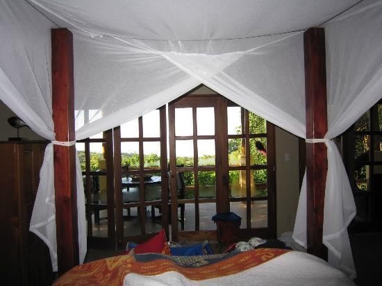 Casa Chameleon Hotel Mal Pais: villa vista interior