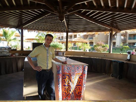 Swiss Inn Dream Resort Taba : Mostafa Top man
