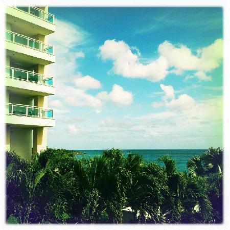 Rainbow Beach Club: view from condo balcony