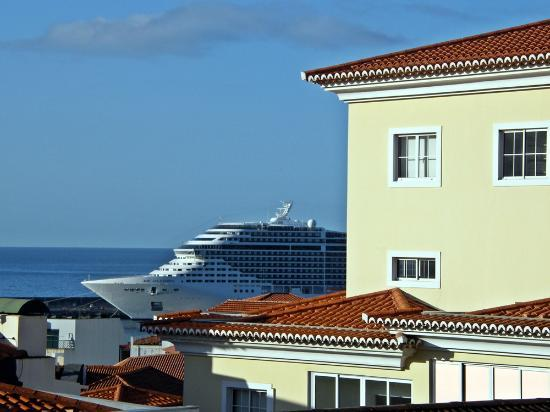 Hotel Sirius: Vista desde a varanda