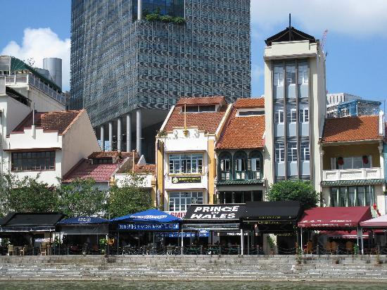 Prince of Wales Backpacker - Boat Quay : From Boat Quay