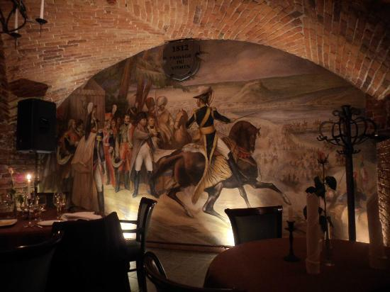 Senieji Rusiai: Wall Painting