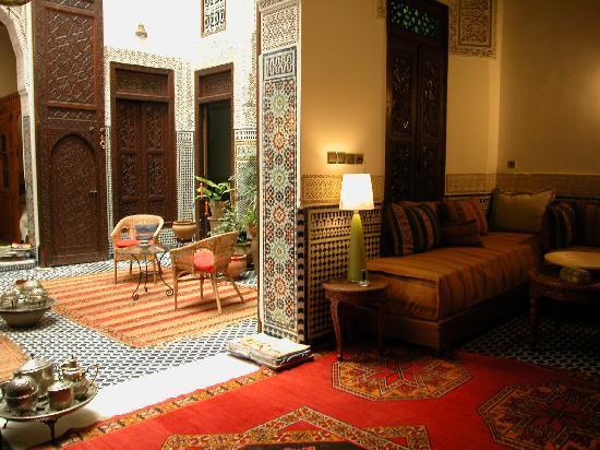 Riad Dar Cordoba: Salon