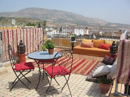Riad Dar Cordoba: Terraza
