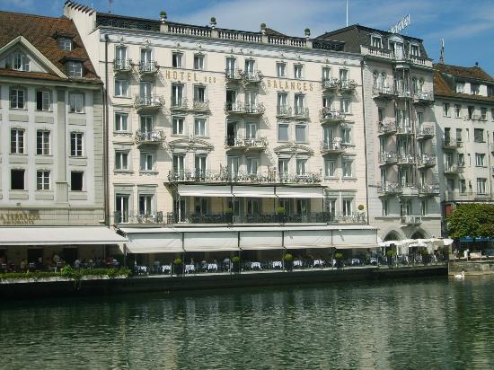 The Hotel Des Balances Lucerne Switzerland