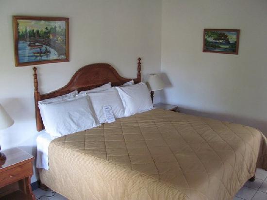 Seastar Inn: Room was spacious, cold, and comfy.