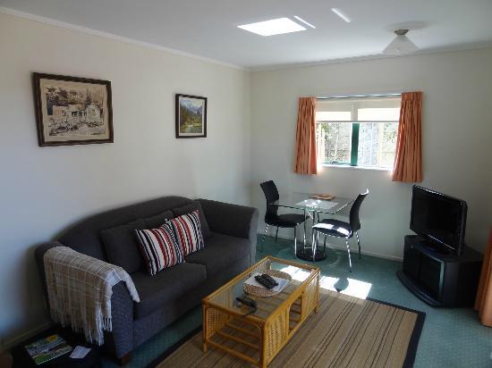 Blue Marlin Apartments : Wohnzimmer