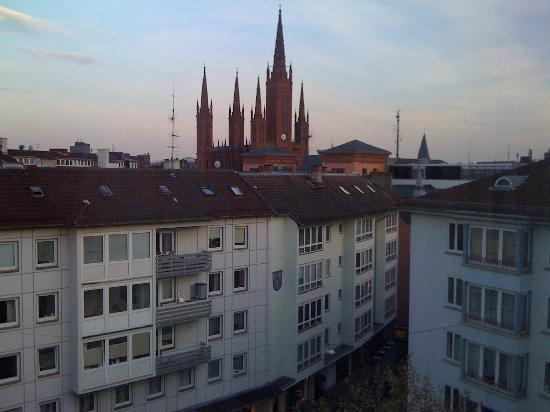 Bären Hotel: View from the room's window