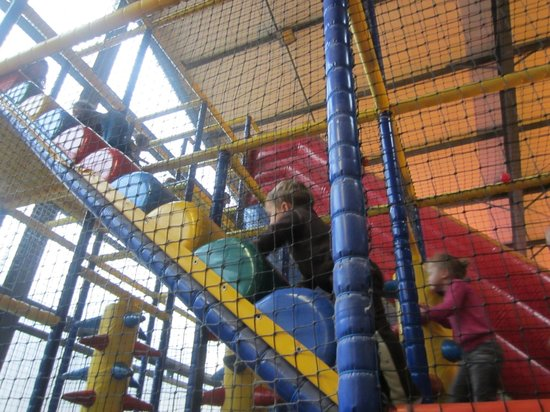 Freiberg am Neckar, Germany: Inside the play structure