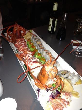 Alex Sushi: Lobster, soft shell crab etc. Incredible taste.