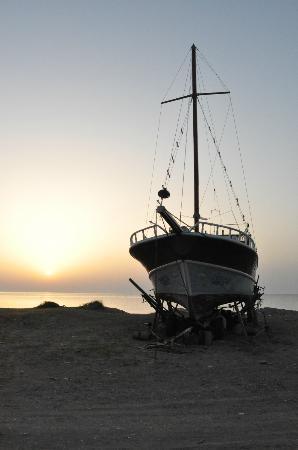 Canada Hotel Cirali Olympos: Sunrise over the beach