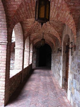 Castle Hallway Picture Of Castello Di Amorosa Calistoga