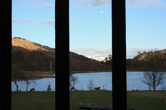 Glenfinnan House Hotel: Lounge Bar With A View