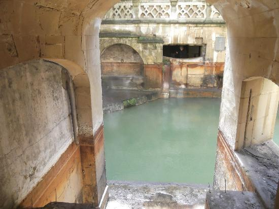 Oldfields House : Roman spa