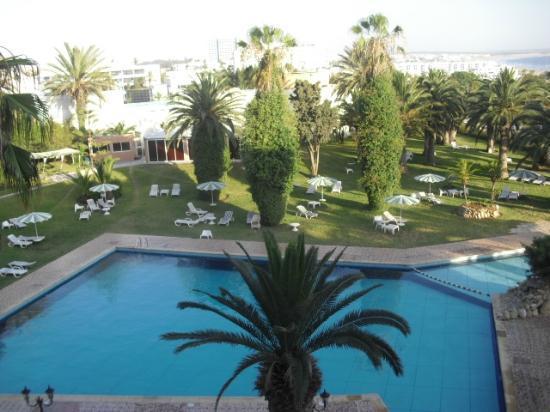 Marhaba : vue piscine