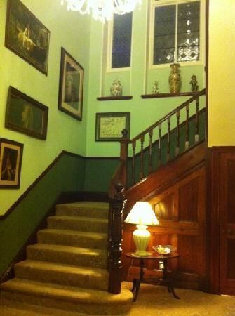 Pencubitt House: staircase