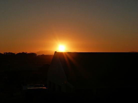 Wind-Rose Guest House: perfect sunsets!