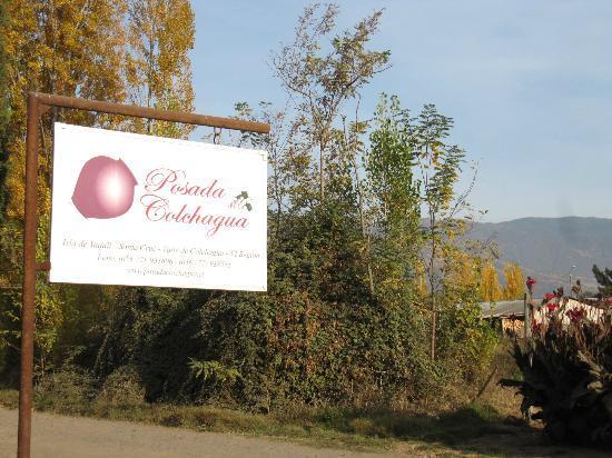 Posada Colchagua: Entry to La Posada