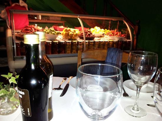 rivoli: Los ajies y tomates desde nuestra mesa