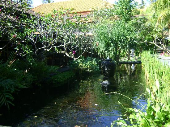 Hotel Santika Premiere Beach Resort Bali: lovely ponds