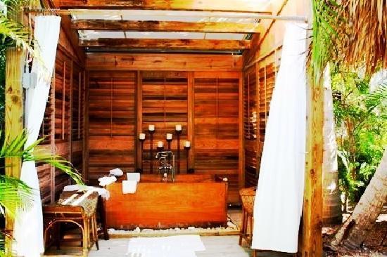 SpaTerre at Little Palm Island Resort: Experience a Romantic Love Bath, a Detox Bath, or a Happiness Bath here at Little Palm Island's