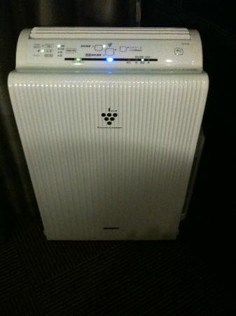 Hotel MyStays Hamamatsucho: air filter, ionization