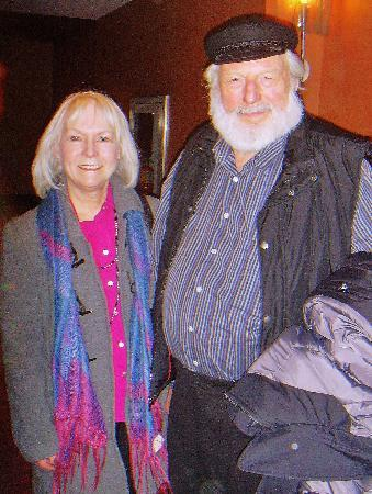 Princess of Wales Theatre: Kathy with Theodore Bikel