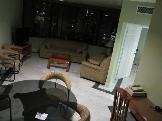Aparthotel Torres de Alba: Living Room