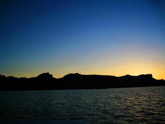 London Bridge Resort: Sleeping Indian mountain formation taken on Sunset excursion