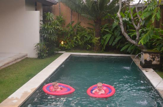 Grand Avenue Bali: We loved the pool - especially our 9 month old twins.