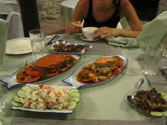 Das phantastische Essen...