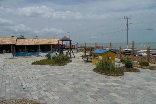 Areia Branca, RN: Área do hotel