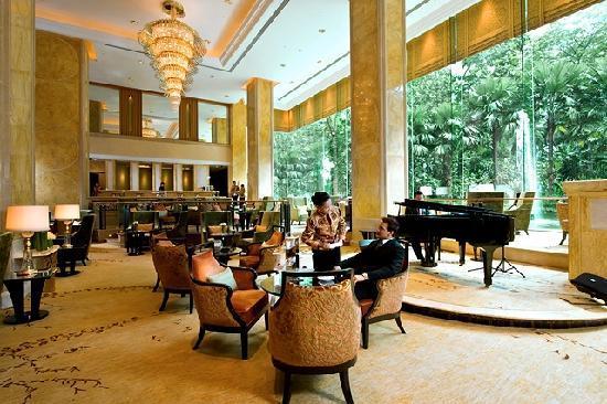 โรงแรมแชงกรี-ล่า กัวลาลัมเปอร์: Lobby Lounge