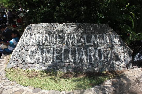 Tangancicuaro, เม็กซิโก: Sign