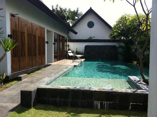The Samaya Bali Seminyak: Our private pool..