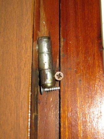 Hotel Amalfi: Altro particolare porta bagno